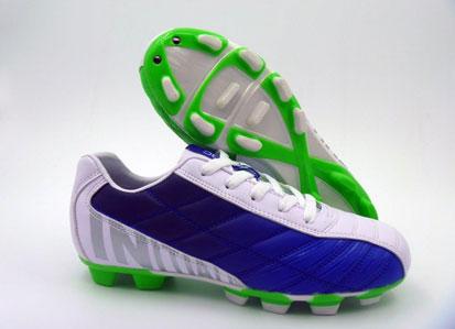 נעל בכחול לבן ירוק